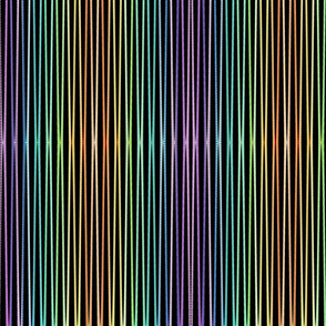 multi colored vertical stripes tell3people