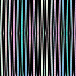 purple pink green vertical stripes tell3people