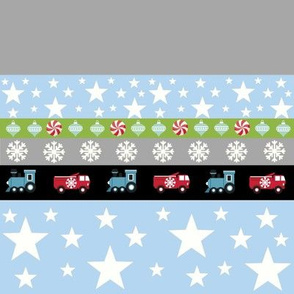 Holiday Star - truck and trains