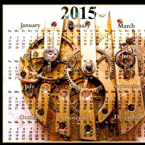 2015 Calendars - On Paris Time
