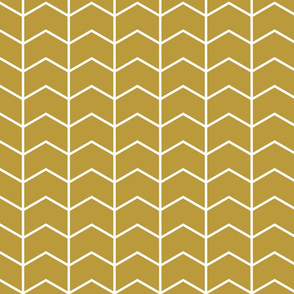 chevron // golden - Woodland Collection