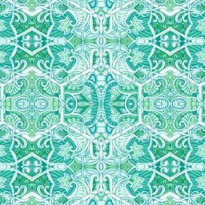 Hexa Paisley Tangle