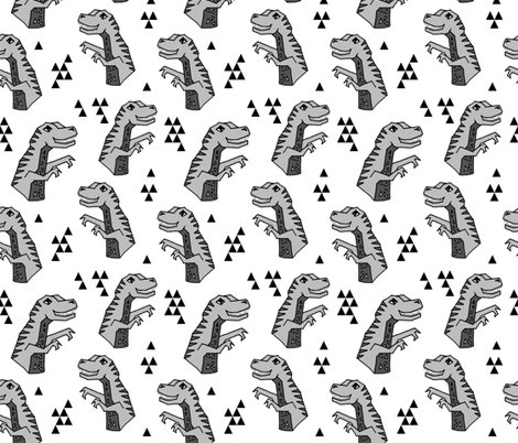 Dinosaurs dino dinosaur grey kids boys nursery grey for Grey dinosaur fabric
