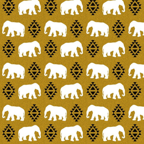 elephant golden linen