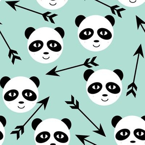 panda  arrow tribal mint trendy swedish minimal monochrome design for kids nursery trendy hipster baby leggings designer black and white grid amazing awesome design