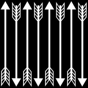 arrow black and white monochrome nursery baby arrows