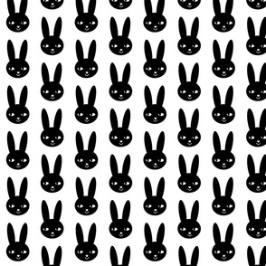 happy bunny black