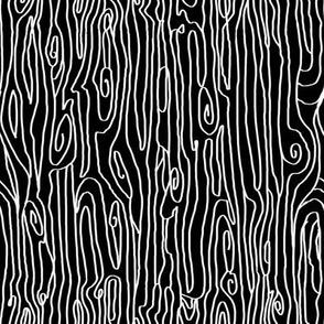 woodgrain black and white monochrome minimal design