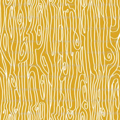 woodgrain golden mustard yellow nursery swedish nature fabric