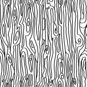 woodgrain black white