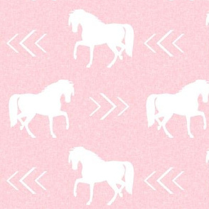 horse pink