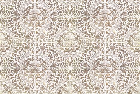 Trawalla-Buff-025 fabric by henricombes on Spoonflower - custom fabric