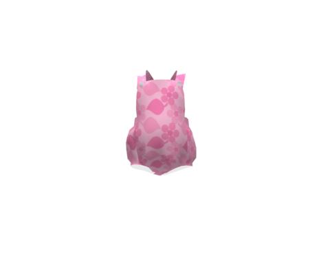 Dotty Light Pink Flowers