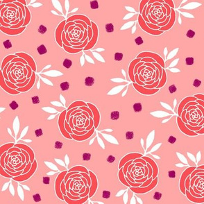 roses - pink