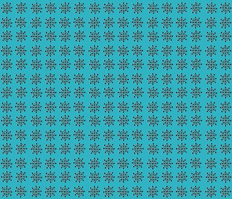 burst - teal fabric by kristinnohe on Spoonflower - custom fabric