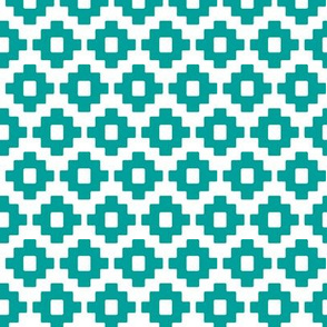 Simple Tribal Teal