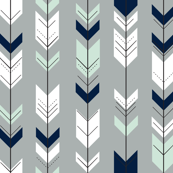 Fletching Arrow // Northern Lights - Grey