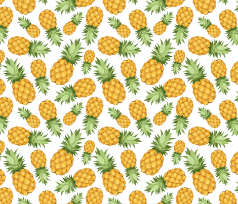 Mighty Pine fabric by herewesewagain on Spoonflower - custom fabric