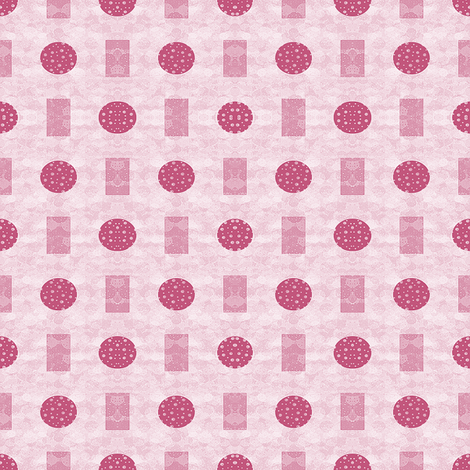 Peppermint and Cinnamon (vertical) fabric by anniedeb on Spoonflower - custom fabric