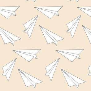 nude paper plane - elvelyckan