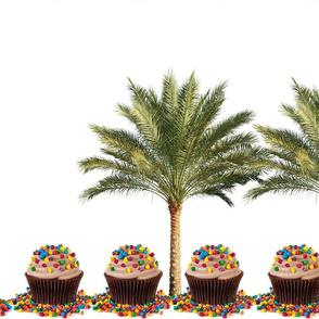 Palm tress candies