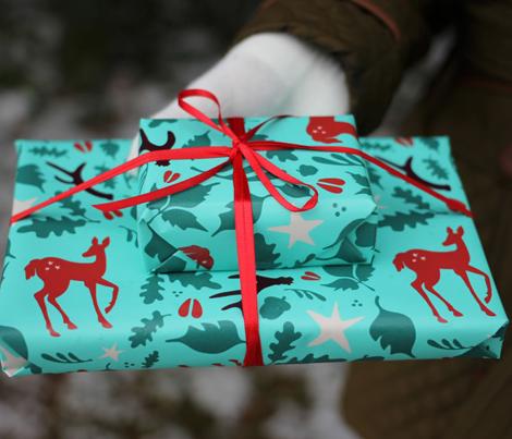 Deerly Beloved Gift Wrap