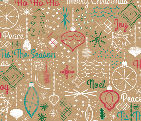 Tis the Season fabric by jenflorentine on Spoonflower - custom fabric