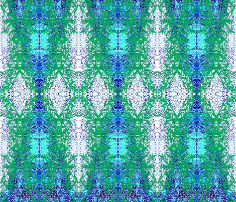 Ottoman Lily Garland fabric by joancaronil on Spoonflower - custom fabric