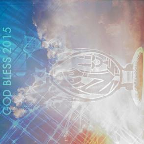 Jewish Blessing 2015 Teatowel