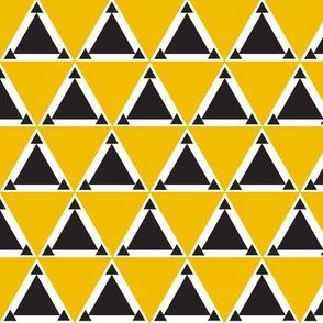 triangles mustard