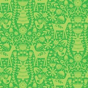 Nordic Reindeer - Lime