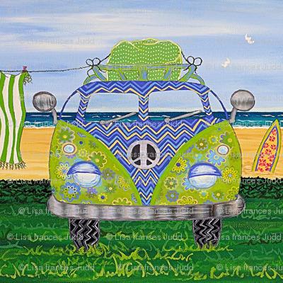 Hippy Van Blue