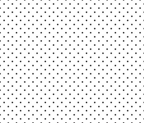 polka dot white fabric by seekatesewfabric on Spoonflower - custom fabric