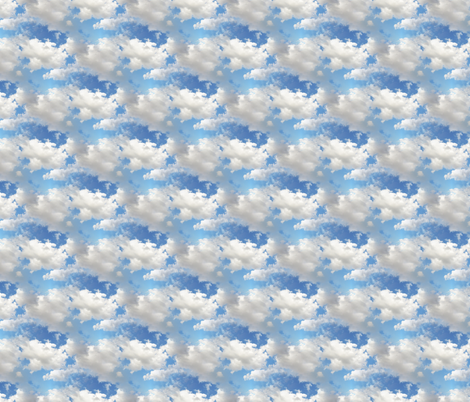 Cloudy Weather fabric by judisjems on Spoonflower - custom fabric