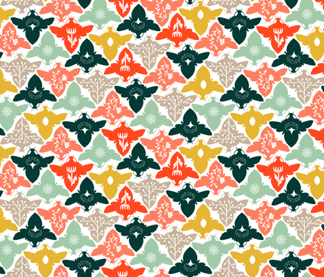 Bee Free fabric by mackeymedley on Spoonflower - custom fabric