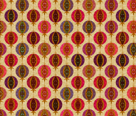 Ornaments From The Attic fabric by inscribed_here on Spoonflower - custom fabric