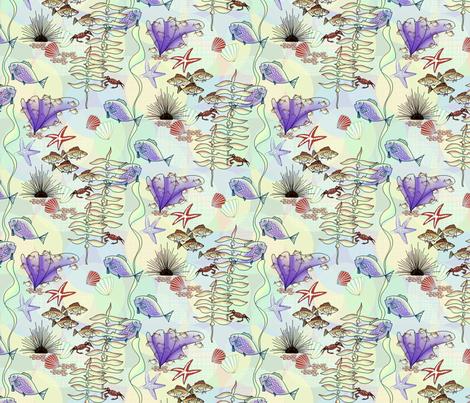 Under_da_Sea_on_Coord_3 fabric by house_of_heasman on Spoonflower - custom fabric