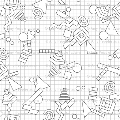 how to draw 3d shapes on graph paper
