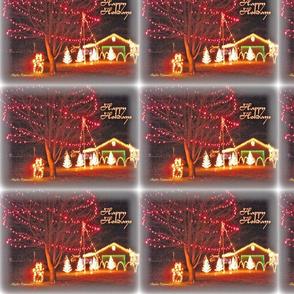 Happy Holidays Scenery