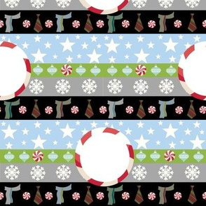 candy scarves-template