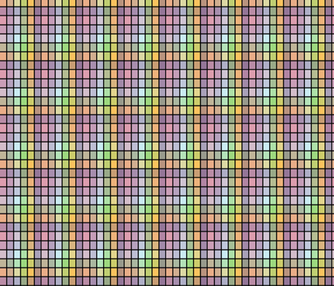 Pastel squares fabric by whimzwhirled on Spoonflower - custom fabric