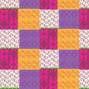 Summer Garden Patchwork warm