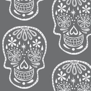 Sugar Skulls - Chalkboard