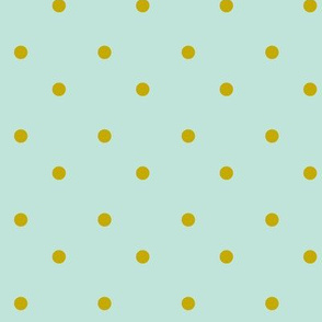 Gold Dots-Mint