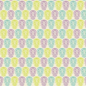 Sugar Skulls - Multicolored