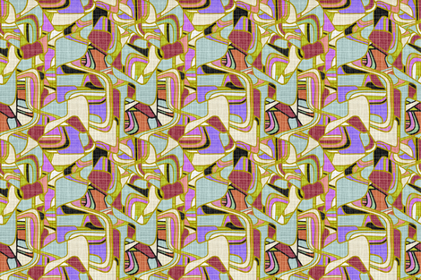 Danish Modern Evening Shade fabric by joanmclemore on Spoonflower - custom fabric