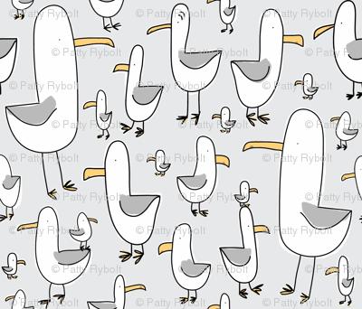 Gulls (lt. grey + gull grey)