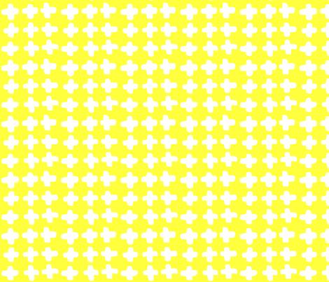 Crossed the Sun fabric by hexo on Spoonflower - custom fabric