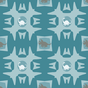 Dinosaur Tribal Design