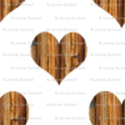 Wooden Heart Smaller